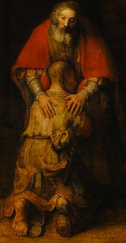 """Return of the Prodigal Son,"" Rembrandt"