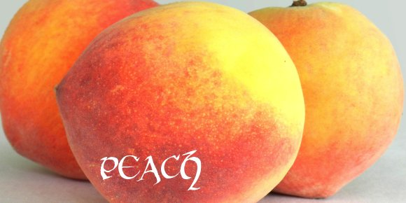 peach(featured)